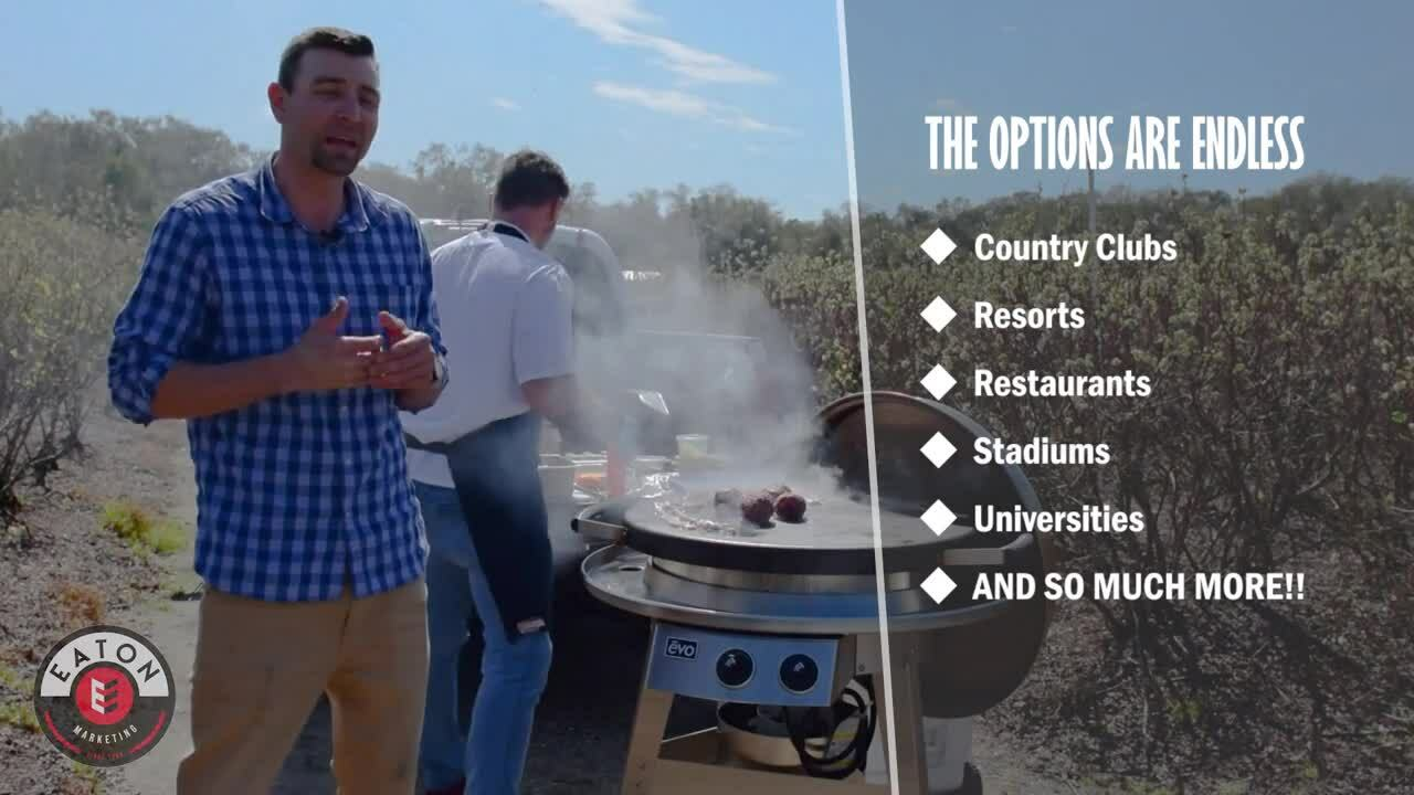 Eaton - Evo Professional Display Grill