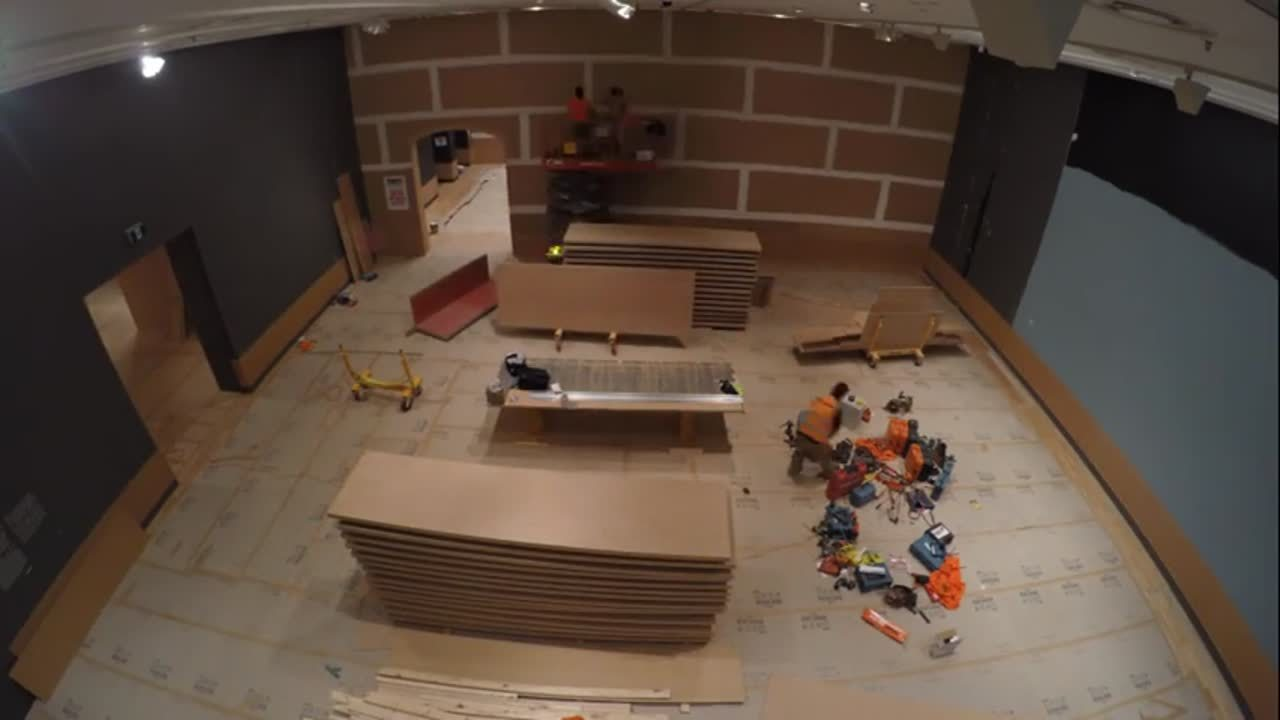 NGV - Building Services Timelapse