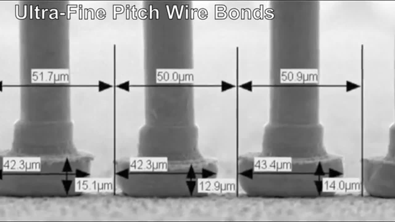 8000i Wire Bonder - high-reliability wire bonder & ball (stud) bumper