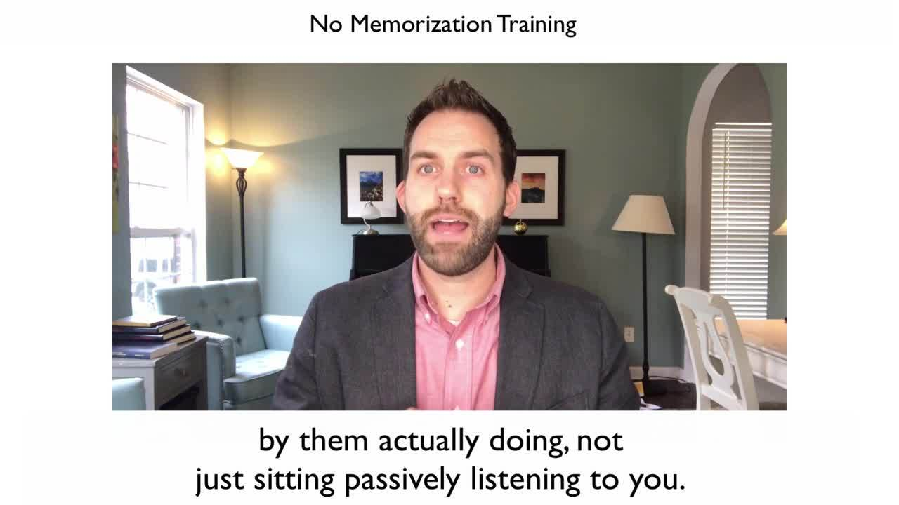 No Memorization Training-2