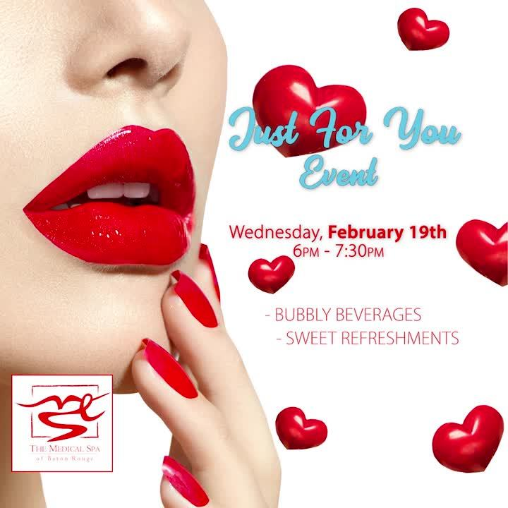 Just for You FEB Event
