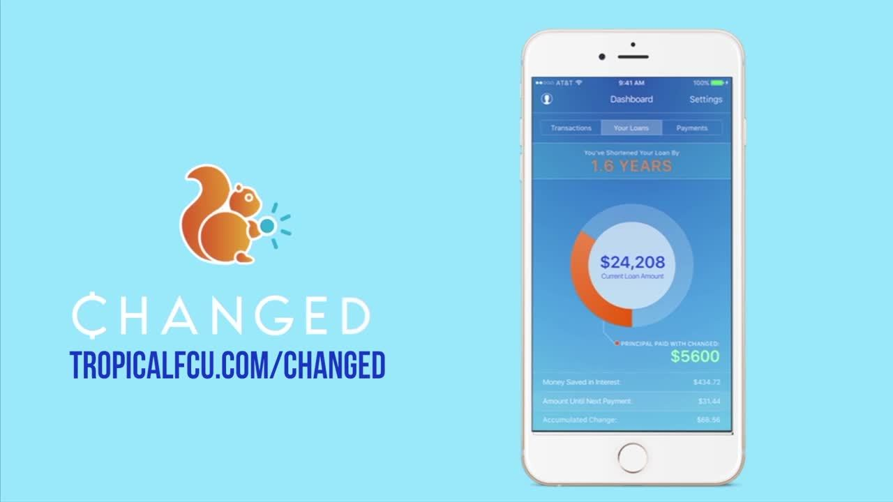 video about ChangEd app and how it helps TFCU members with student loans