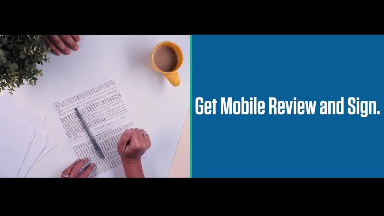 Mobile Review & Sign