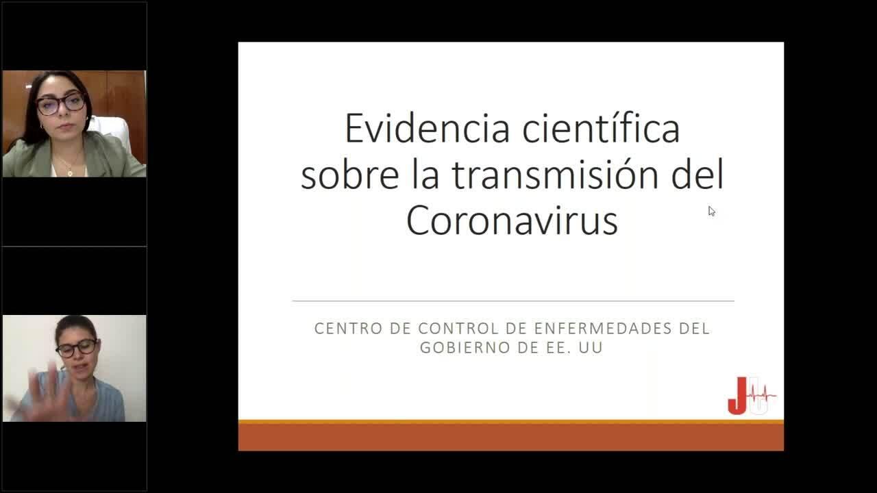 51 clip webinar Recomendaciones de higiene y seguridad ante el COVID