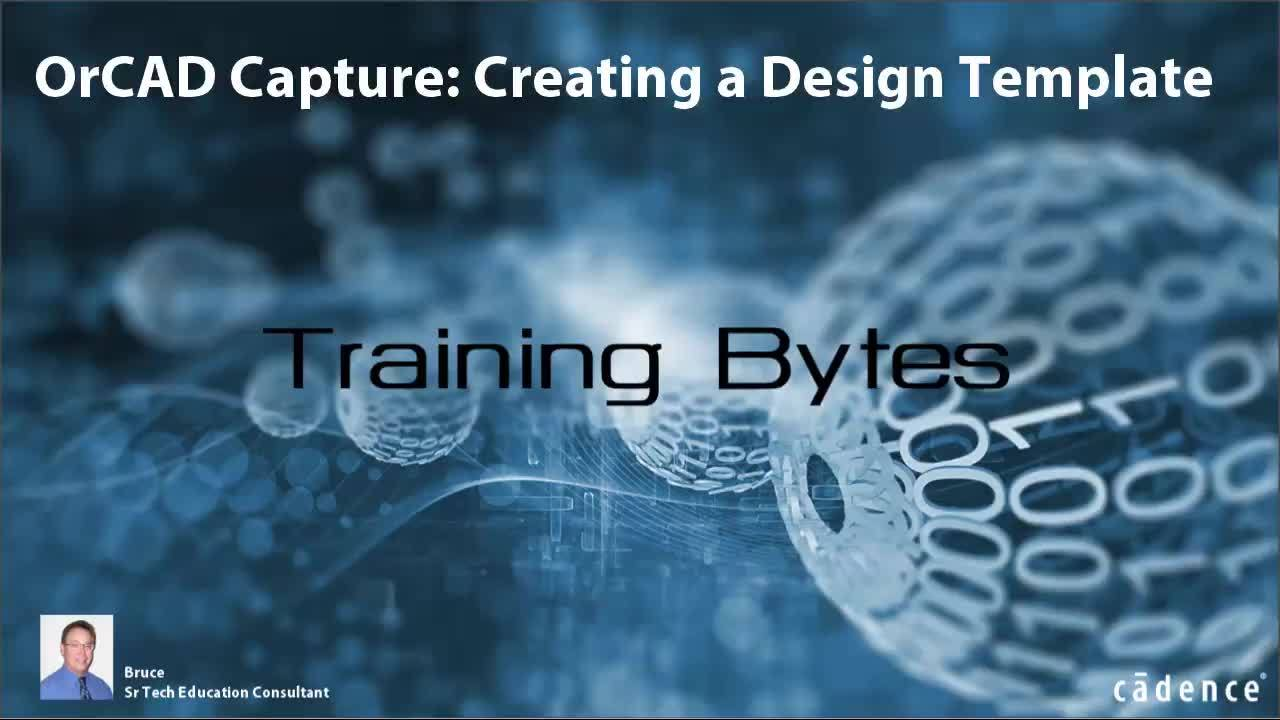 OrCAD Capture - Creating a Design Template