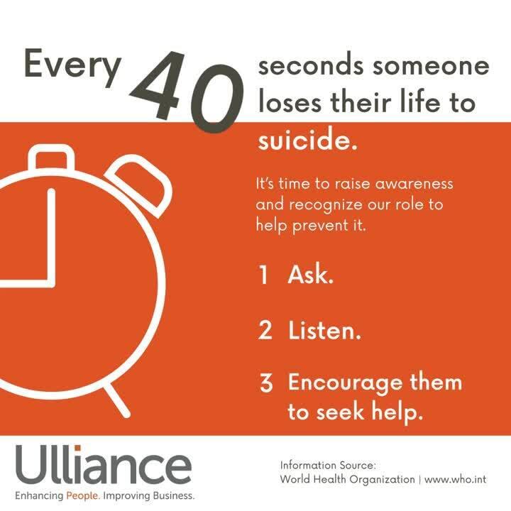 Suicide Awareness Statistics & facts LinkedIn