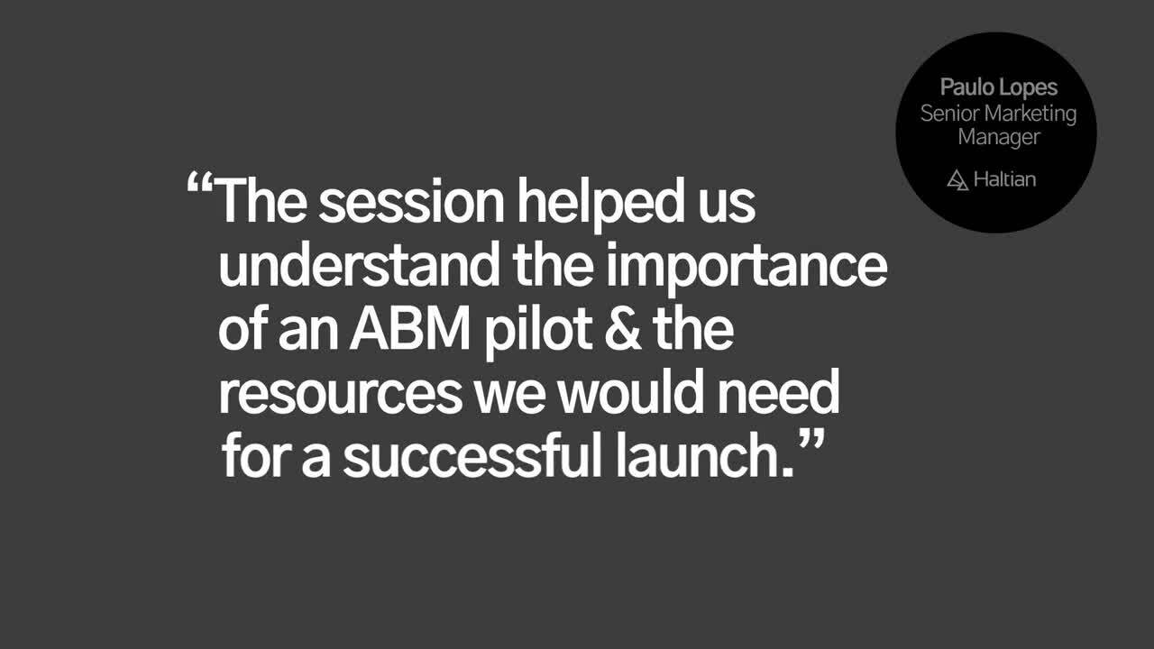 ABM Lunch and Learn optimised