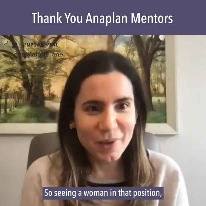 Thank You Anaplan Mentors