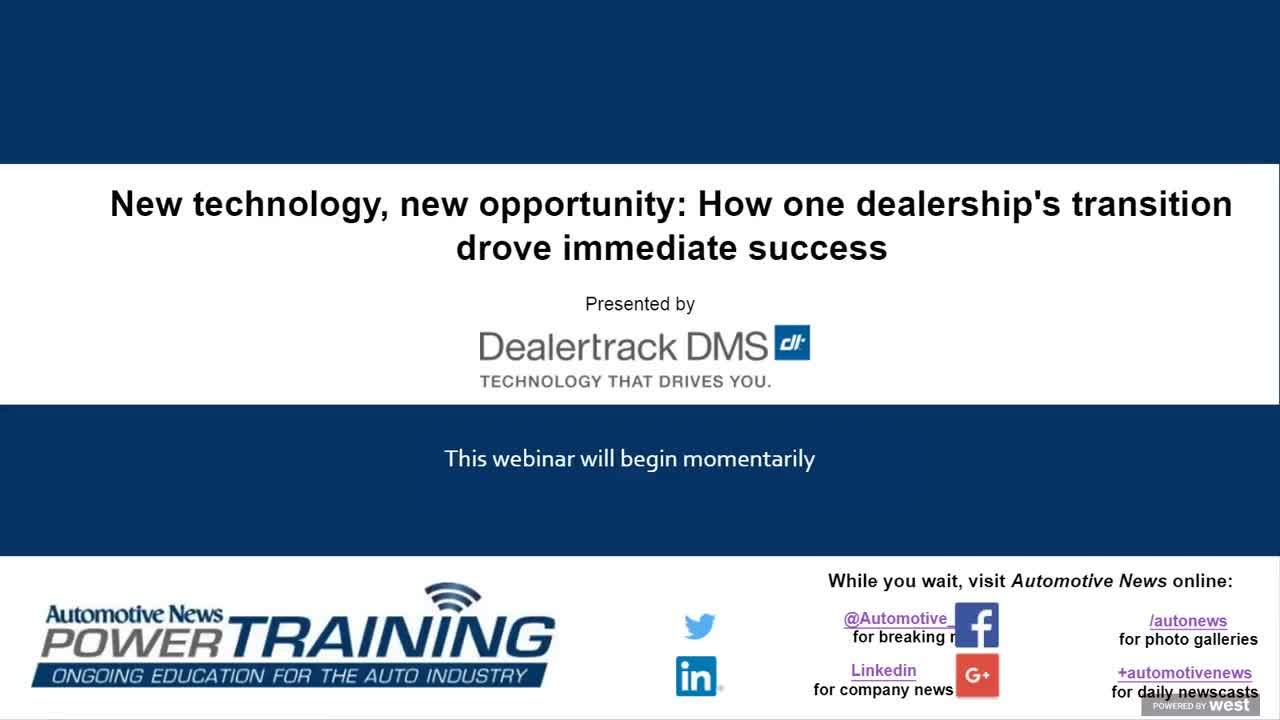 New Technology, New Opportunity: How One Dealership's Transition Drove Immediate Success