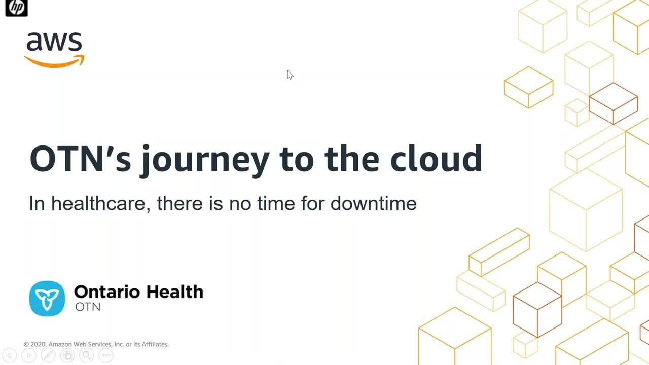 Journey to the cloud: The Ontario Telemedicine Network (OTN)