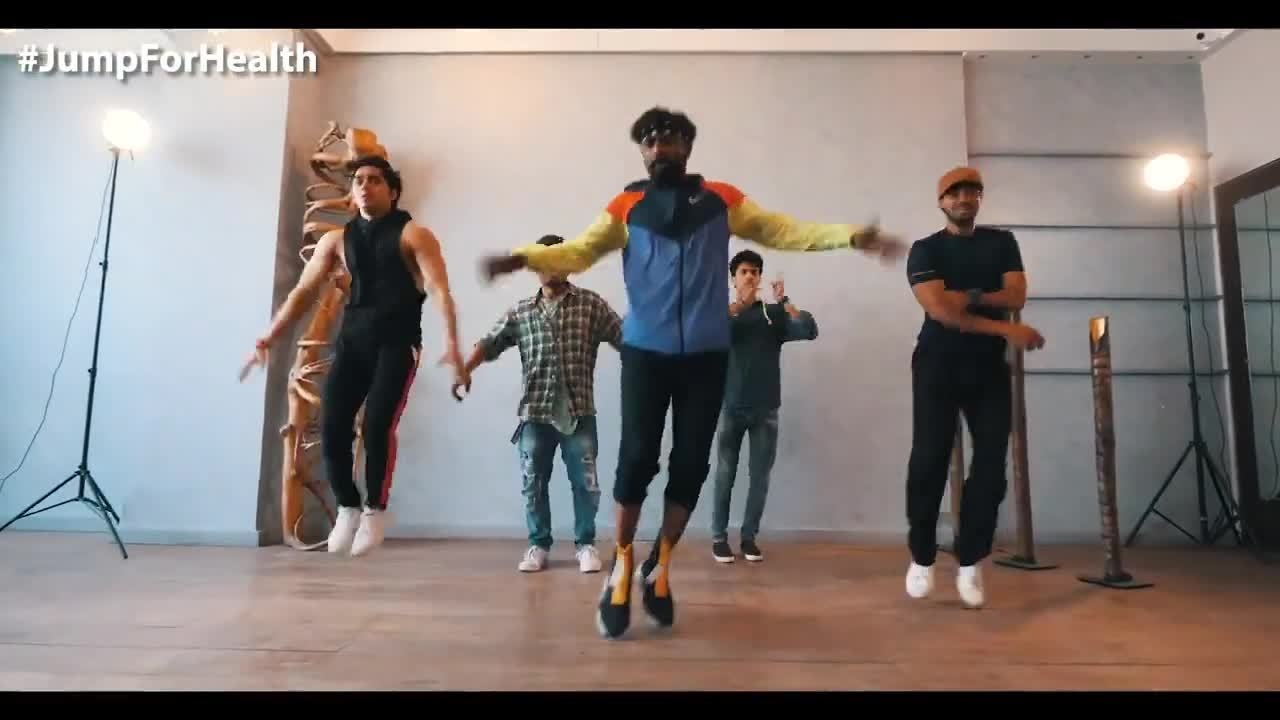Aditya-Birla-JumpForHEalth2019-Remo_Dsouza
