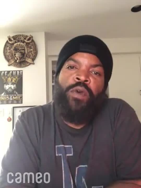Cameo by Ice Cube - visit cameo.com to get a message from your favorite person