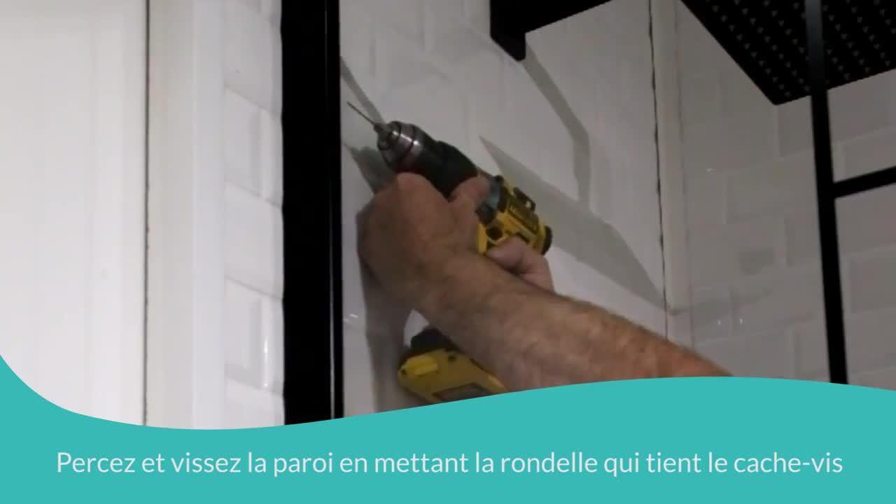 Comment monter facilement une paroi de douche