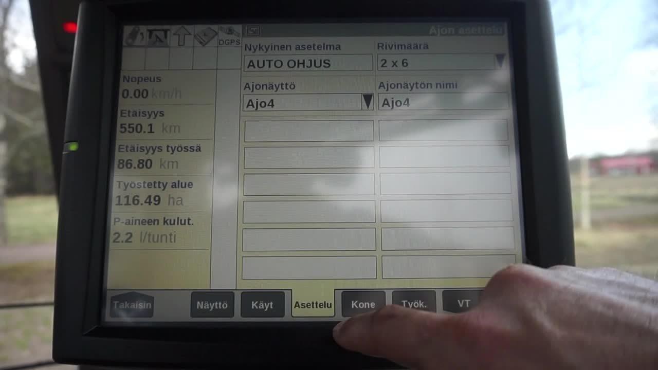 Ajonäyttöjen muokkaus_opastusvideo