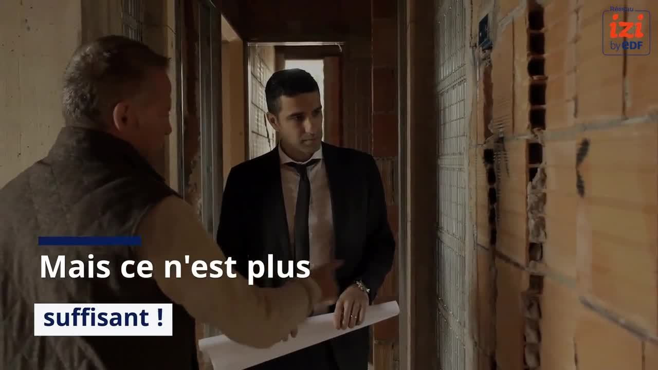 Reseau IZI by EDF- Video 2-Trouver chantiers-commencer