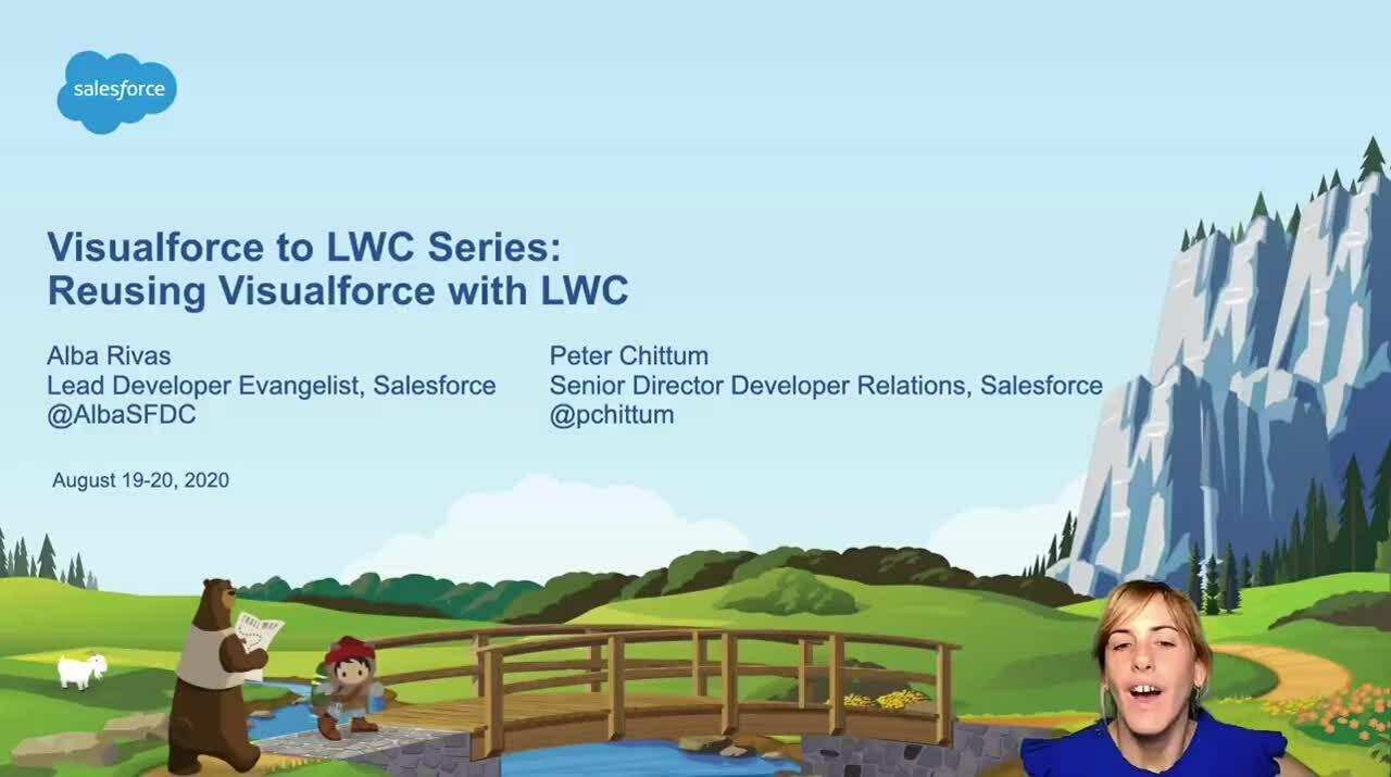 Video: Serie Visualforce a LWC - Reutilizando Visualforce con LWC