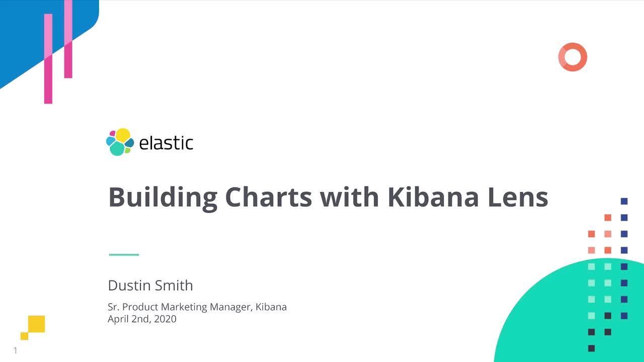 Video for Erstellen von Diagrammen mit Kibana Lens