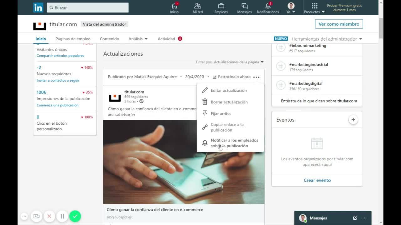 Video008 - titular.com_ administrador de la página de empresa _ LinkedIn
