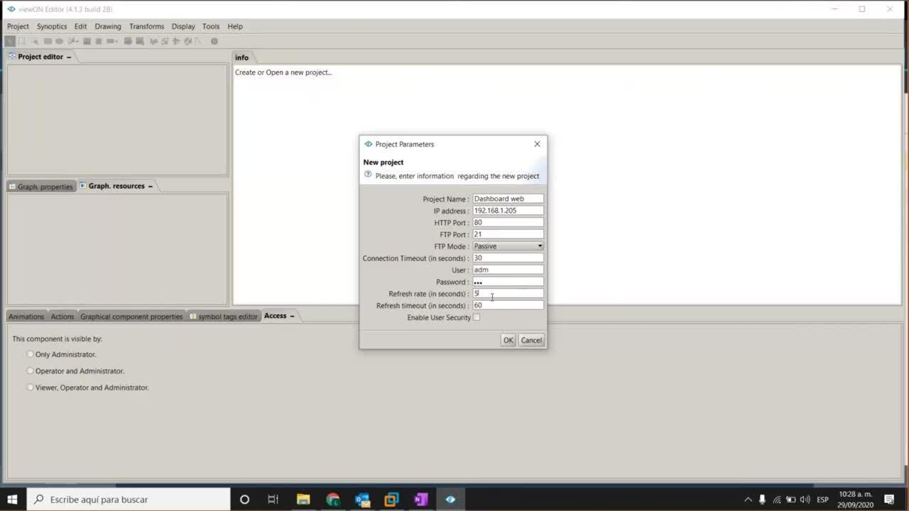 113 Creación de dashboards web eWON en 60 minutos