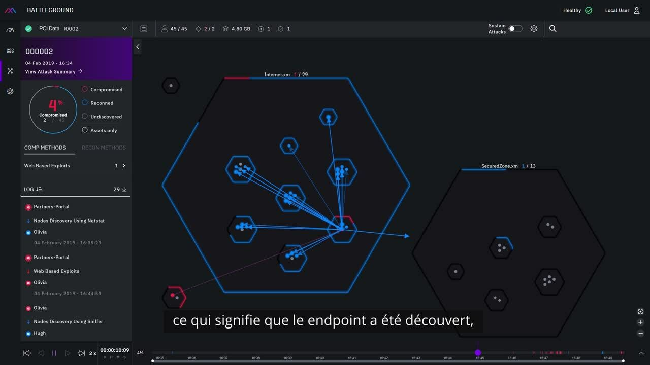 XM Cyber Demo Video - French
