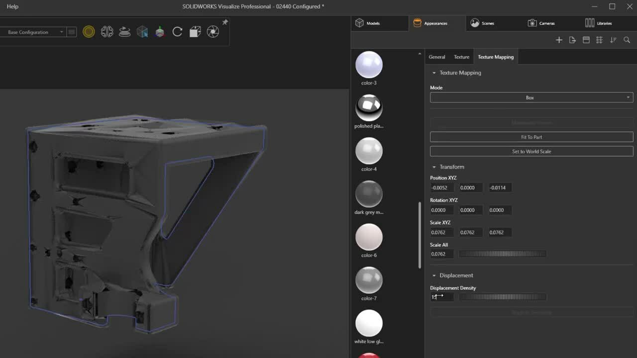 Whats New in SOLIDWORKS 2021 - Visualize