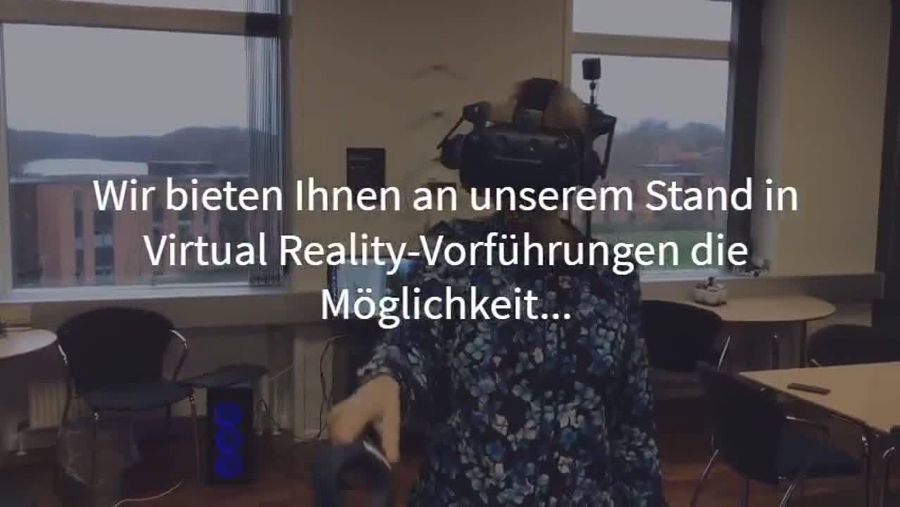 Virtual Reality auf der BAU