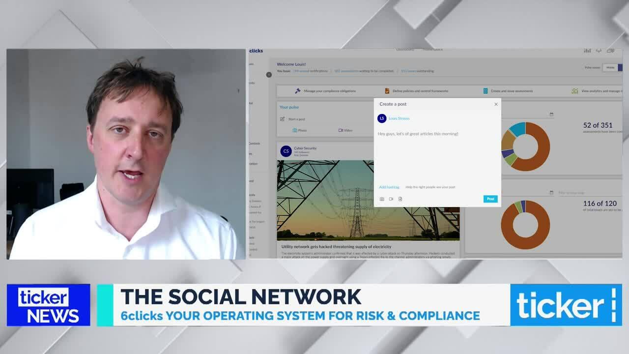 Risk & Compliance - 6clicks - The Social Network - 24 November