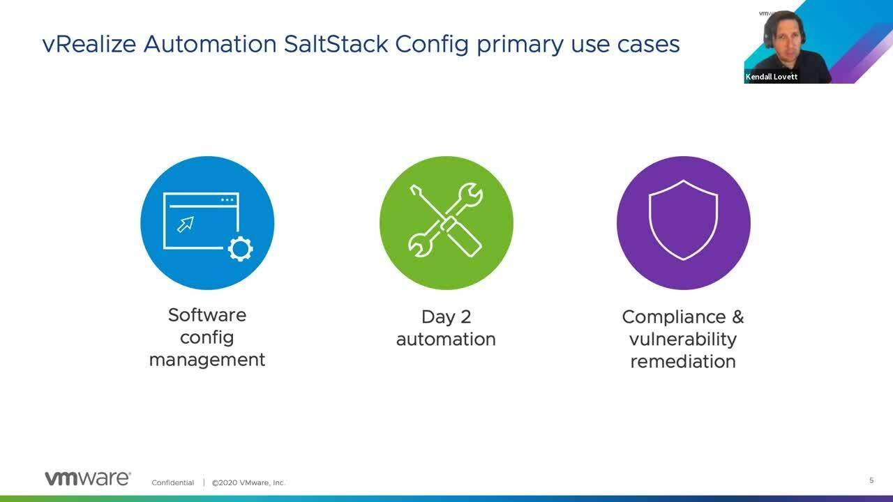 SaltStack Config Webinar