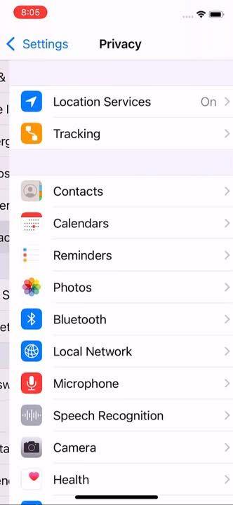 manage Permissions (iOS) 2.0