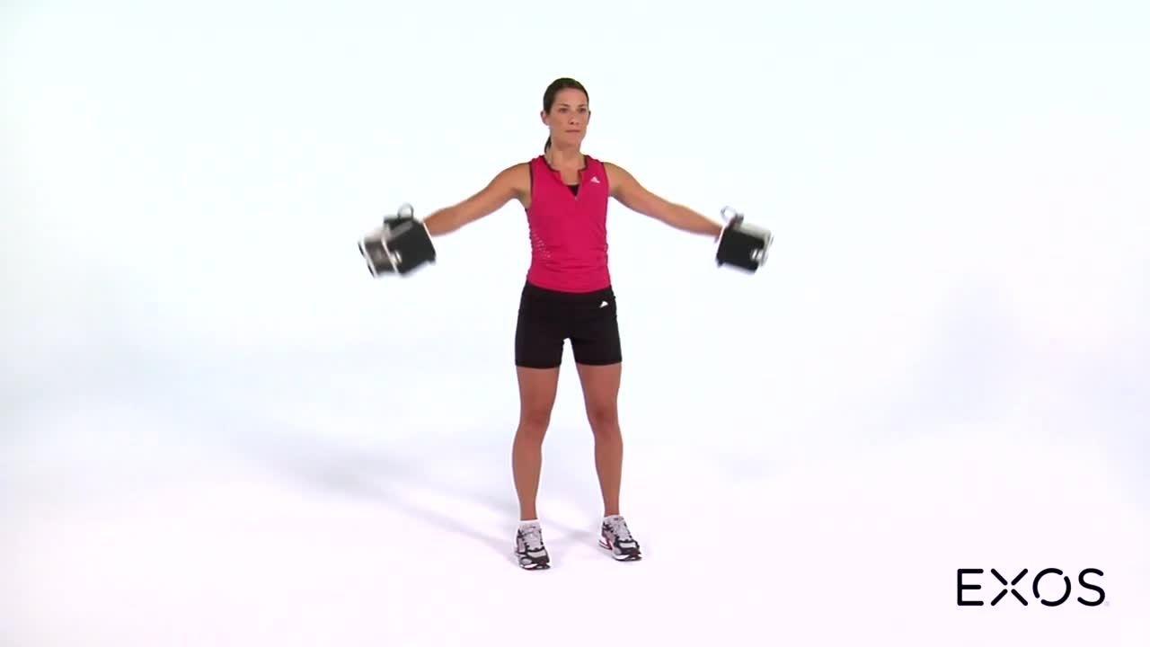 Lateral Shoulder Raise - Dumbbell