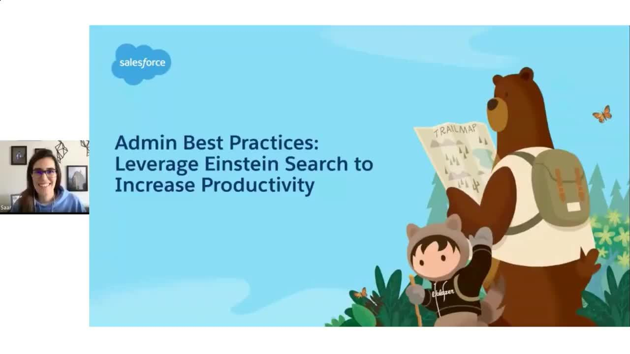 Video: Admin Best Practices - Leverage Einstein Search to Increase Productivity