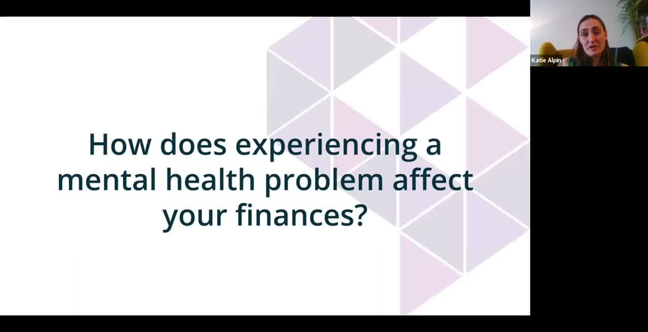 Data, Debt & Mental Health Webinar