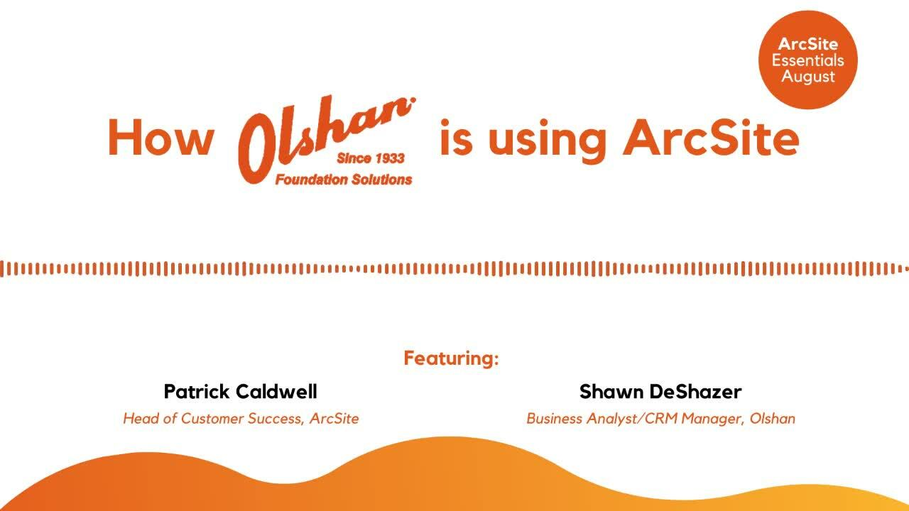 How-Olshan-Foundation-is-using-ArcSite-ArcSite-Essentials-Webinar-August-2020