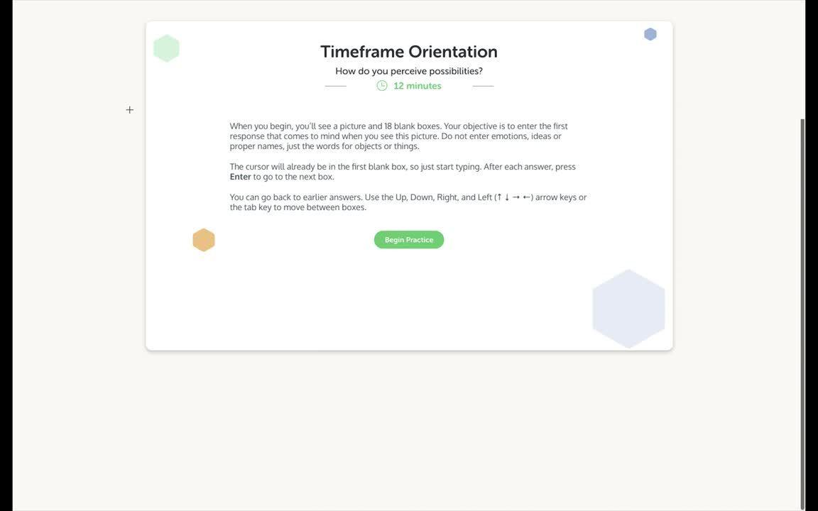 Timeframe Orientation Directions-1