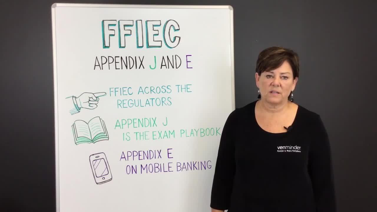 Third Party Thursday Video- FFIEC Appendix J and E