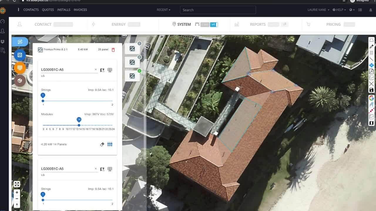 SolarPlus V4 Feature Walkthrough
