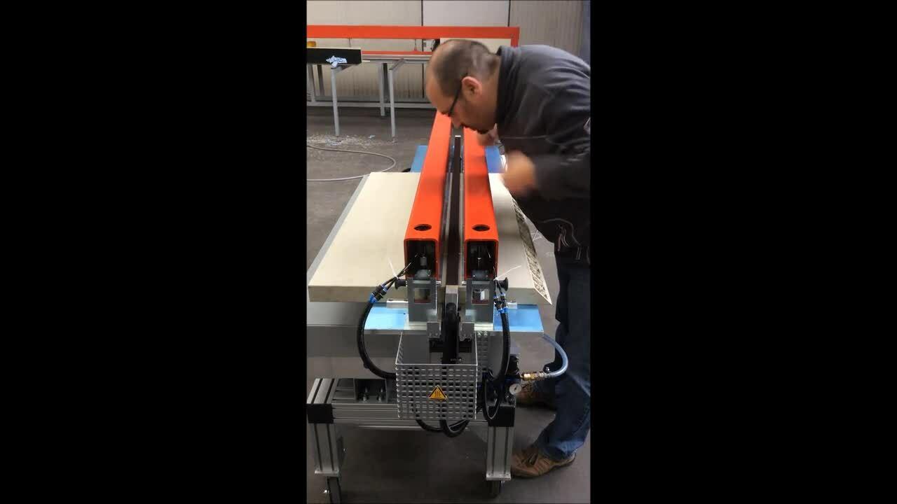 Video 15.20  S-Hand pneumatic 180° butt welding