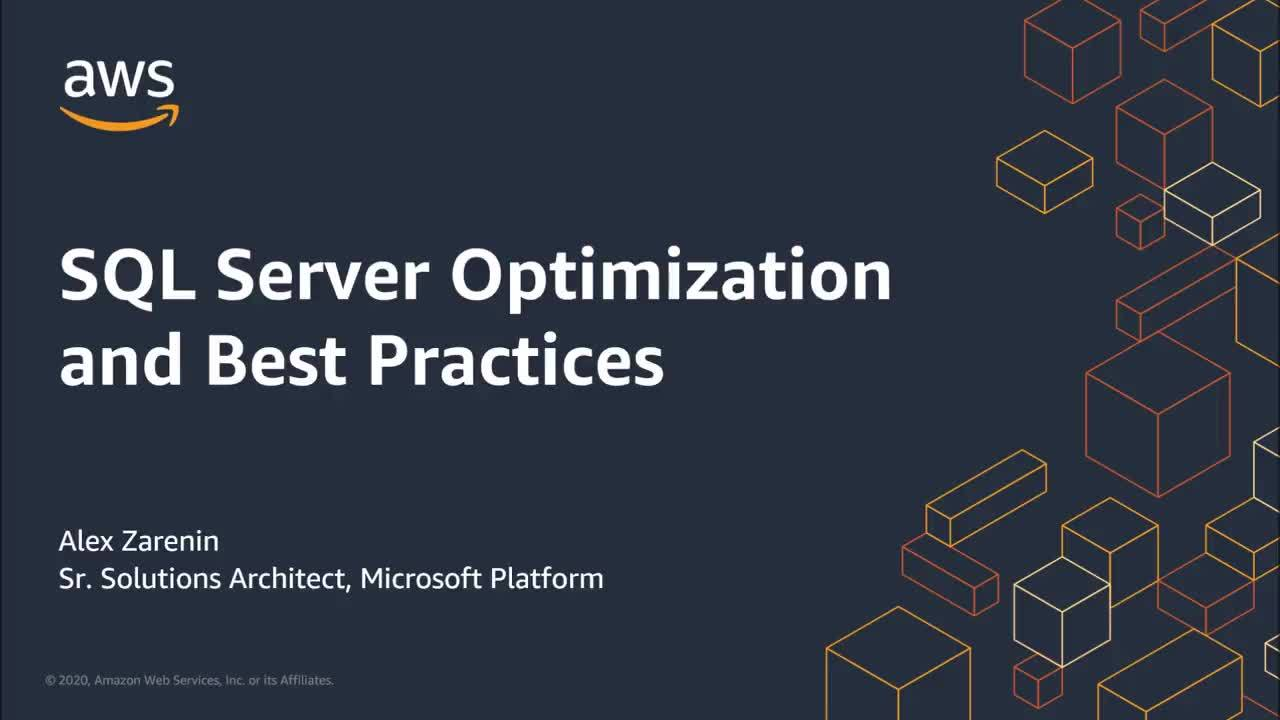 SQL Server Optimization and Best Practices