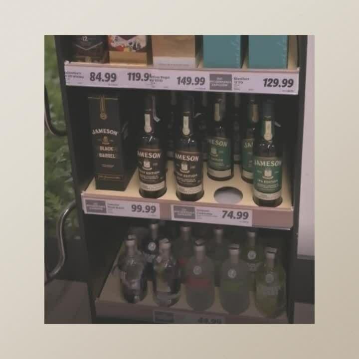 Pernod Ricard cardboard stand