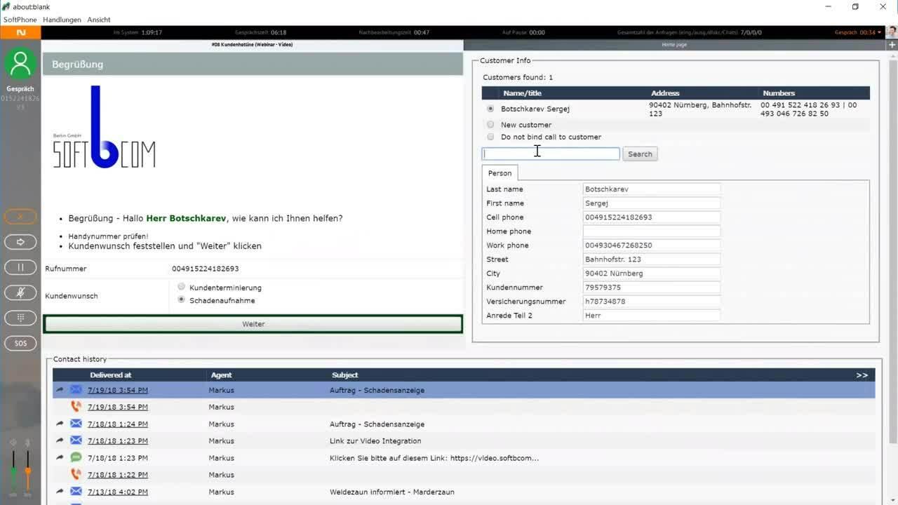 02 - Videokommunikation im Kundenservice ohne zusätzliche Applikationen