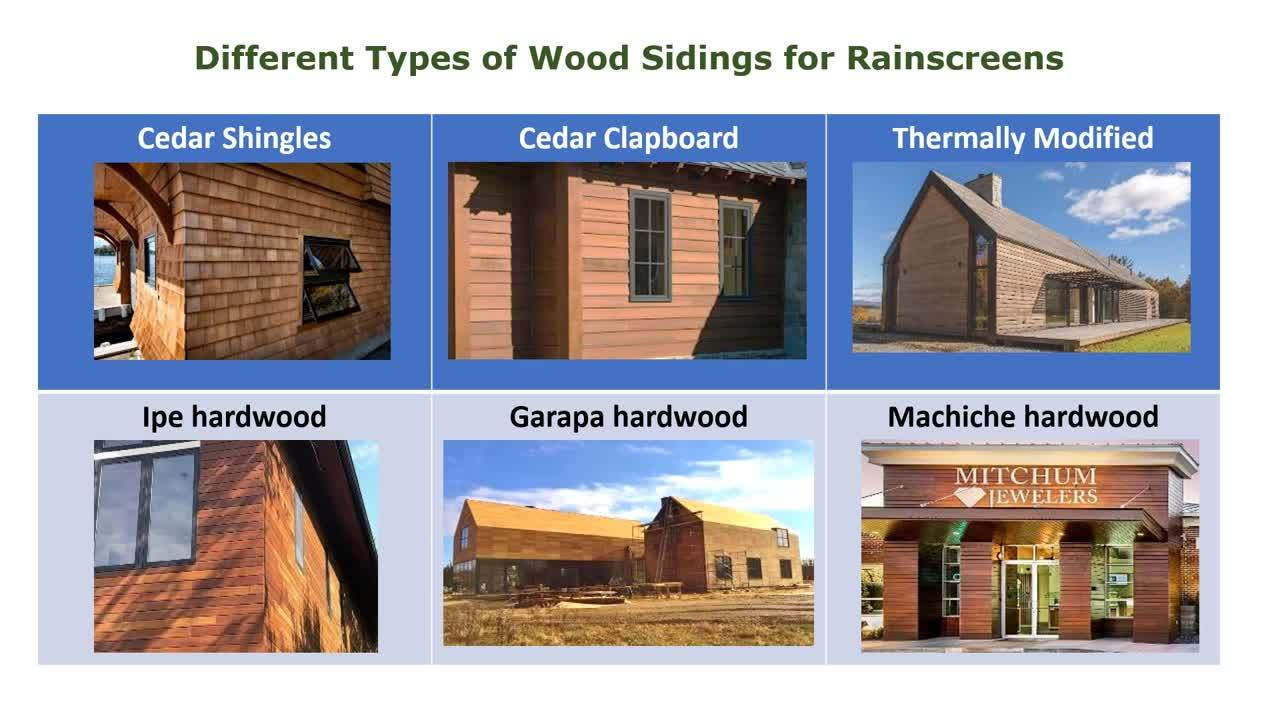 What is a Wood Rainscreen 201  learning module 2020