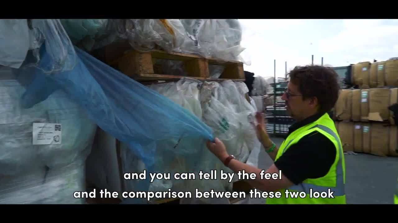 Inspecting Plastic Film for Recycling _ Vanden Recycling