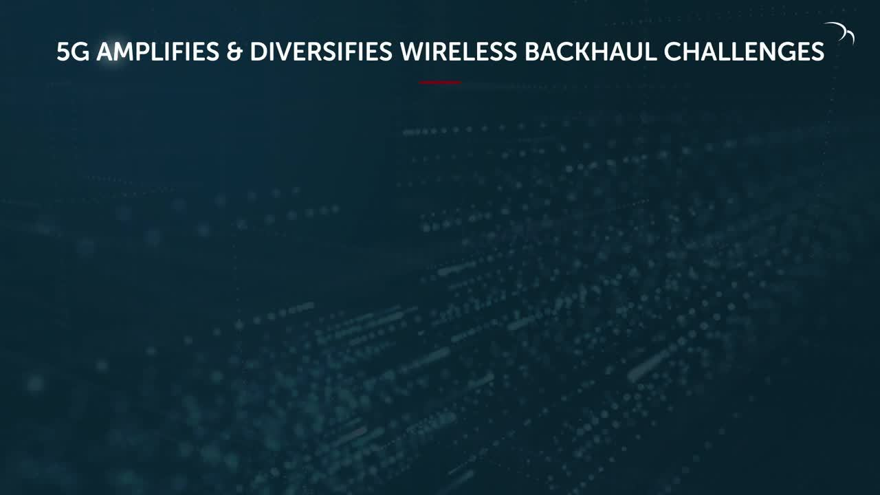 Disaggregated wireless backhaul