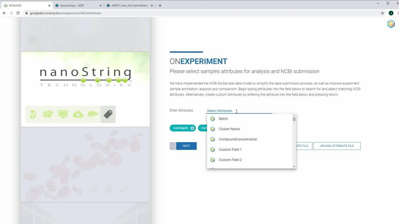 Set Up a New nCounter® Experiment