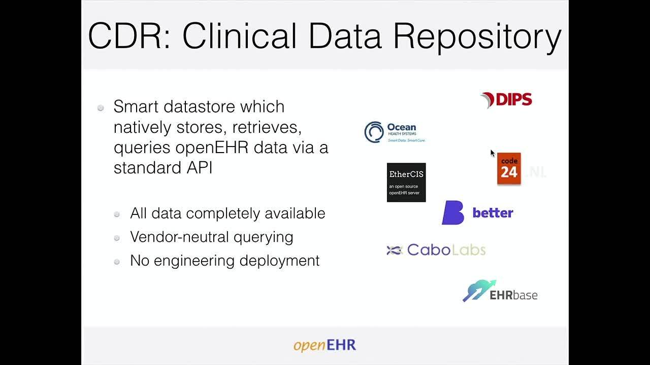 01 and 02 Better care - Open EHR Day 2019 - Intro and Ian McNicoll