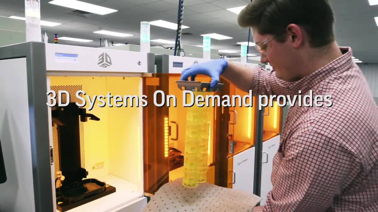 Rapidly Reconfigure Your Supply Chain with 3D Systems On Demand