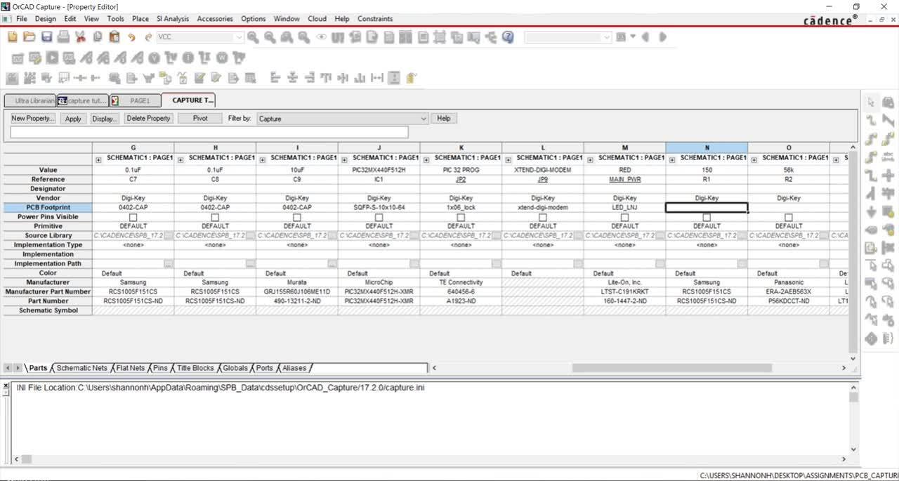 [17.2] PCB Walk-through 1: Assigning PCB Footprints