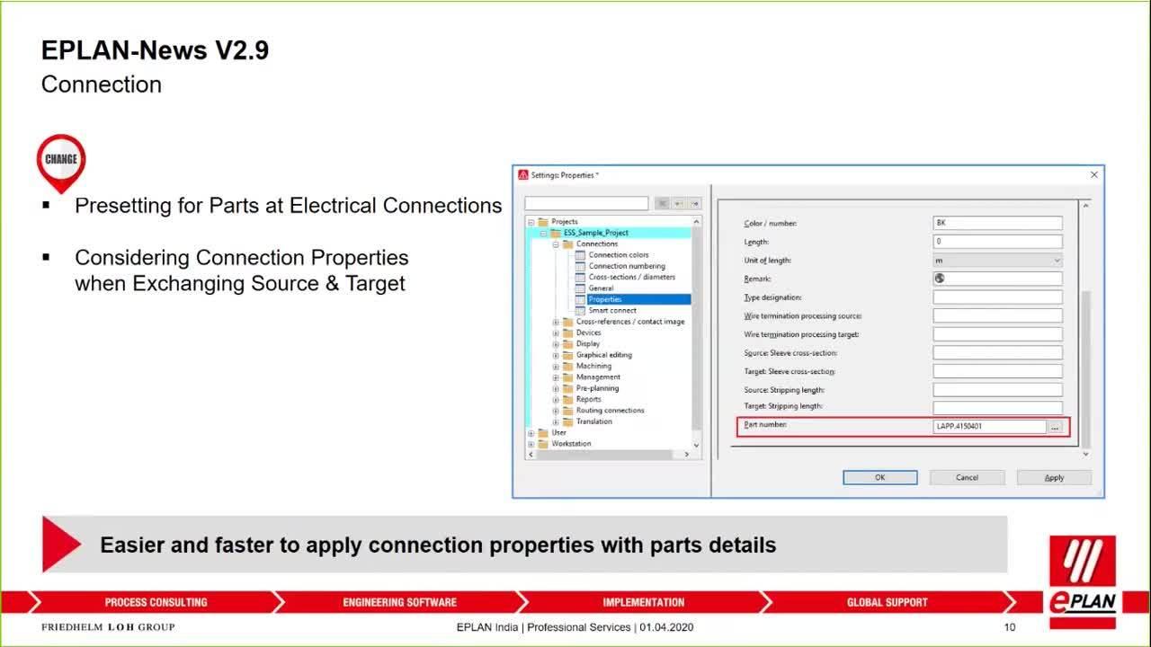 Highlights of EPLAN 2.9 Version-20200417 0933-1