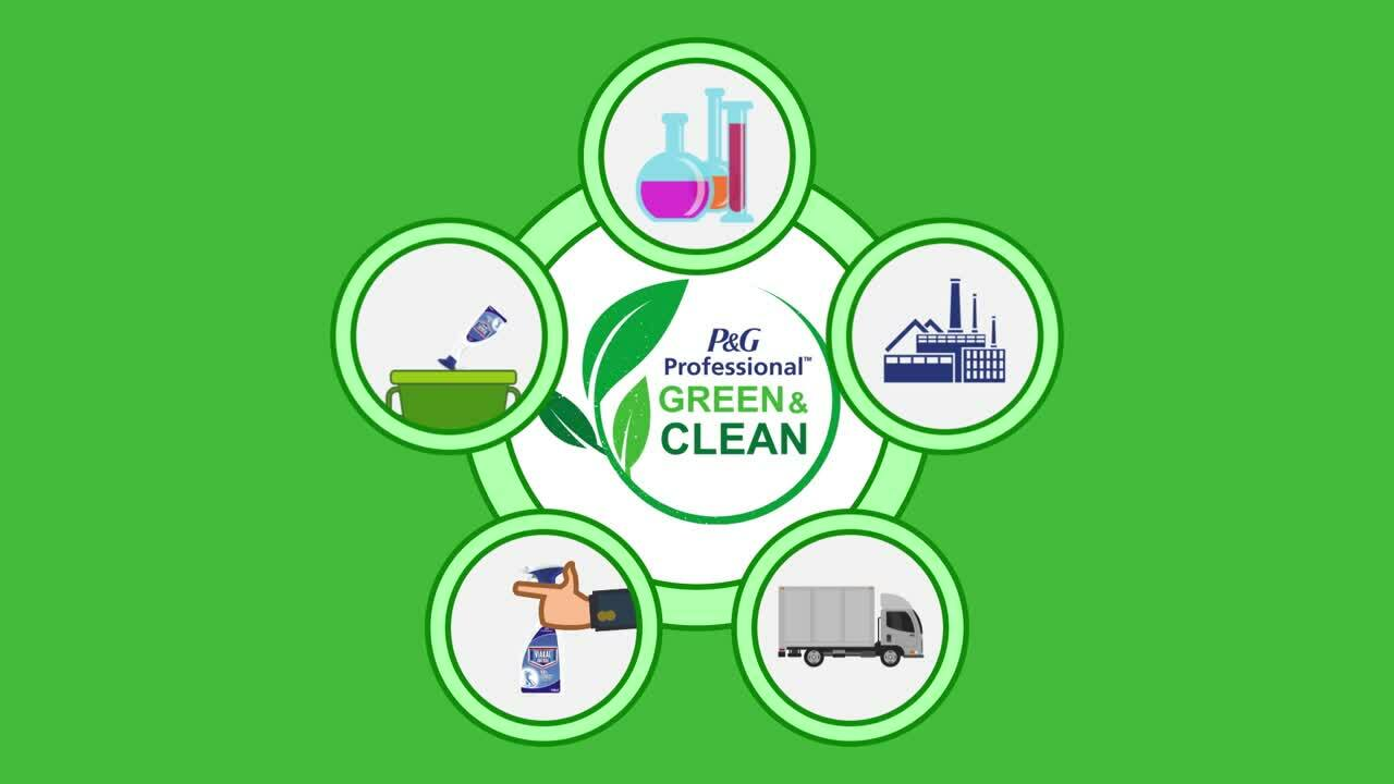 2020 02 P&G Professional Green&Clean Video