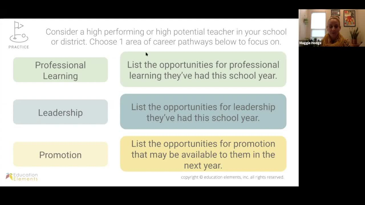 The 8 Design Elements of Teacher Retention Part 1 - October 30 2019 - Webinar